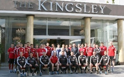 The Kingsley hosts Belarus soccer squad